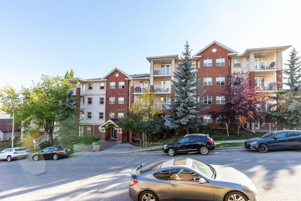 Main Photo: 103 417 3 Avenue NE in Calgary: Crescent Heights Apartment for sale : MLS®# A1039226