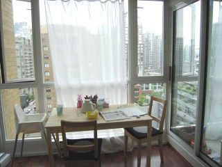 """Photo 5: 1205 1188 RICHARDS Street in Vancouver: Downtown VW Condo for sale in """"PARK PLAZA"""" (Vancouver West)  : MLS®# V822005"""