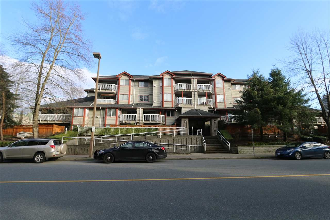 """Main Photo: 204 1215 PACIFIC Street in Coquitlam: North Coquitlam Condo for sale in """"Pacific Place"""" : MLS®# R2334626"""