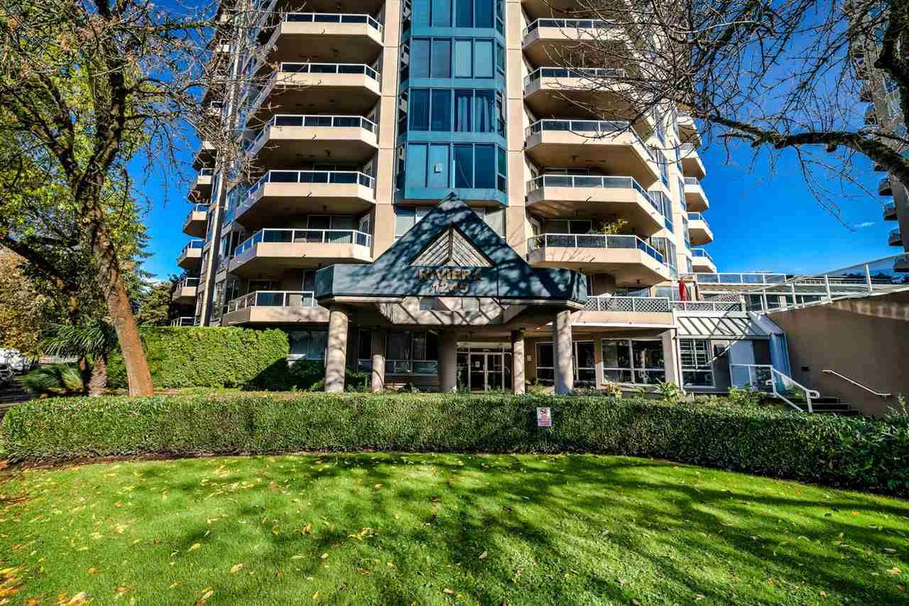 """Main Photo: 303 1245 QUAYSIDE Drive in New Westminster: Quay Condo for sale in """"THE RIVIERA"""" : MLS®# R2509418"""