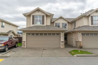 """Photo 1: 162 6450 VEDDER Road in Chilliwack: Sardis East Vedder Rd Townhouse for sale in """"Country Grove"""" (Sardis)  : MLS®# R2555822"""