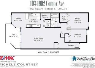 Photo 4: 103 1902 COMOX Avenue in COMOX: CV Comox (Town of) Condo for sale (Comox Valley)  : MLS®# 713630