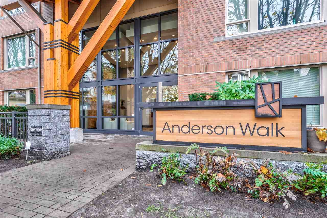 """Main Photo: 401 119 W 22ND Street in North Vancouver: Central Lonsdale Condo for sale in """"Anderson Walk"""" : MLS®# R2436594"""
