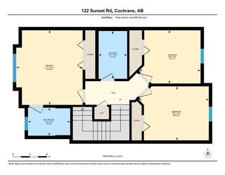 Photo 39: 122 Sunset Road: Cochrane Row/Townhouse for sale : MLS®# A1127717