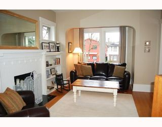 """Photo 2: 857 W 17TH Avenue in Vancouver: Cambie 1/2 Duplex for sale in """"DOUGLAS PARK"""" (Vancouver West)  : MLS®# V756661"""