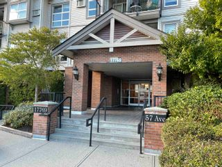"""Photo 2: 414 17769 57 Avenue in Surrey: Cloverdale BC Condo for sale in """"Clover Downs Estates"""" (Cloverdale)  : MLS®# R2615642"""