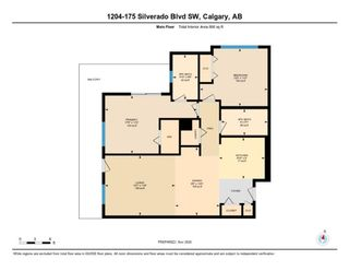 Photo 21: 1204 175 Silverado Boulevard SW in Calgary: Silverado Apartment for sale : MLS®# A1047504