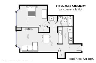 """Photo 20: 1505 2668 ASH Street in Vancouver: Fairview VW Condo for sale in """"CAMBRIDGE GARDENS"""" (Vancouver West)  : MLS®# R2354882"""