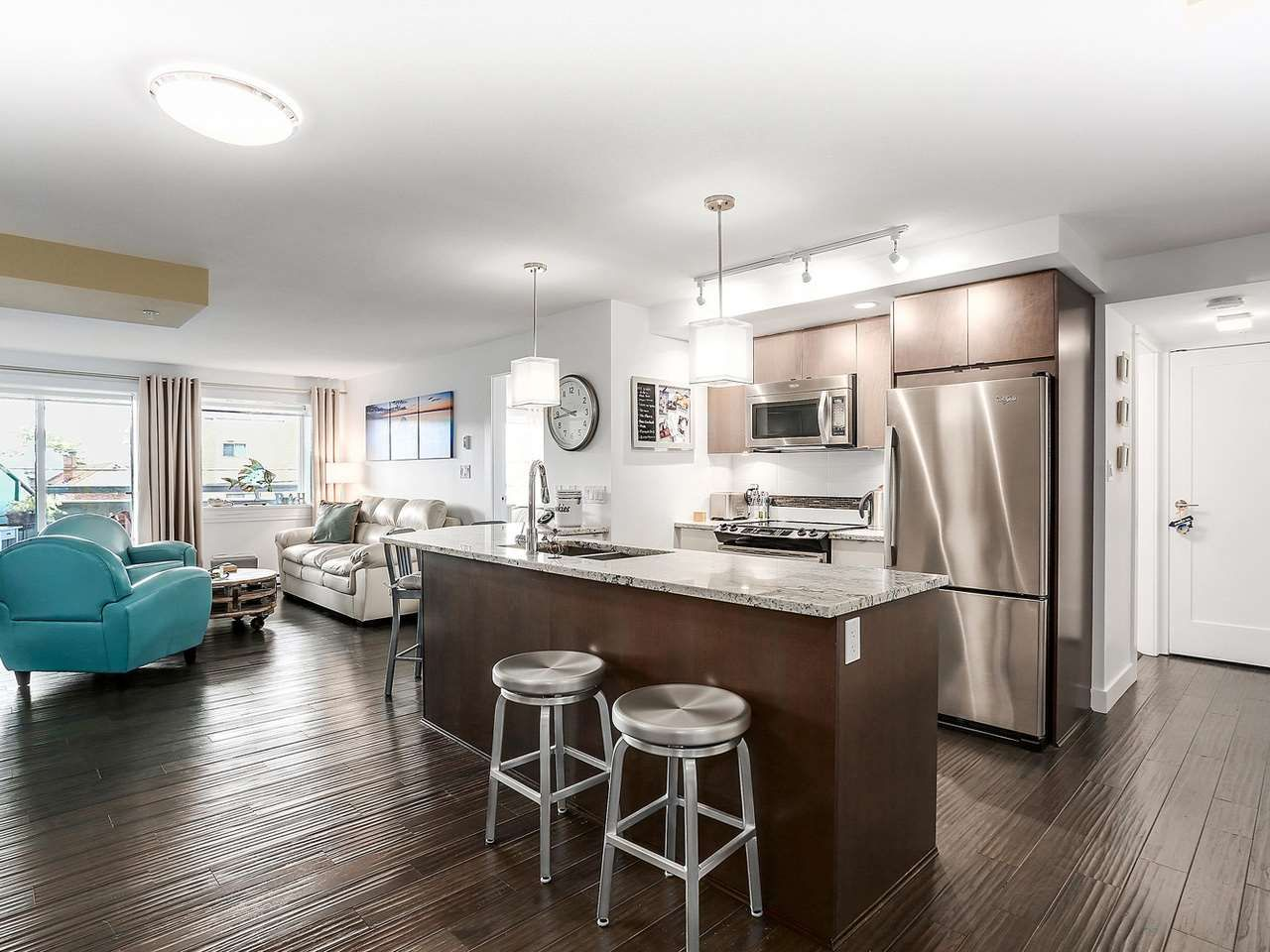 "Photo 8: Photos: 202 14955 VICTORIA Avenue: White Rock Condo for sale in ""SAUSALITO BEACH SIDE LIVING"" (South Surrey White Rock)  : MLS®# R2128764"