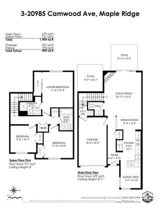 "Photo 16: 3 20985 CAMWOOD Avenue in Maple Ridge: Southwest Maple Ridge Townhouse for sale in ""Maple Court"" : MLS®# R2501267"
