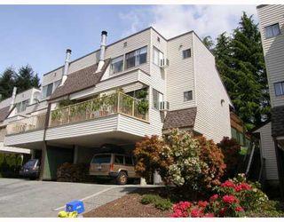"Photo 1: 209 1220 FALCON Drive in Coquitlam: Upper Eagle Ridge Townhouse for sale in ""EAGLERIDGE TERRACE"" : MLS®# V714209"