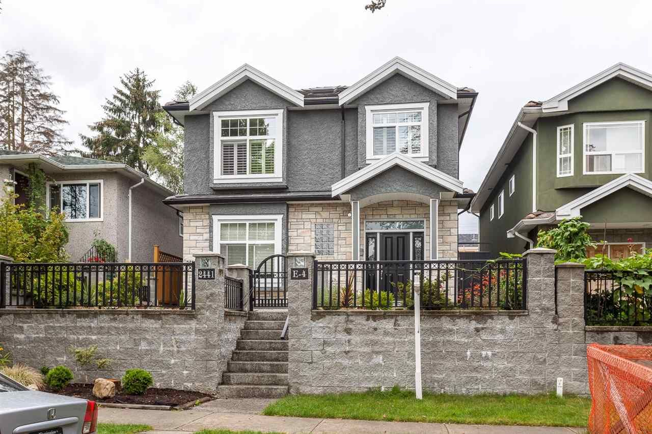 Main Photo: 2441 E 4TH AVENUE in Vancouver: Renfrew VE House for sale (Vancouver East)  : MLS®# R2133270
