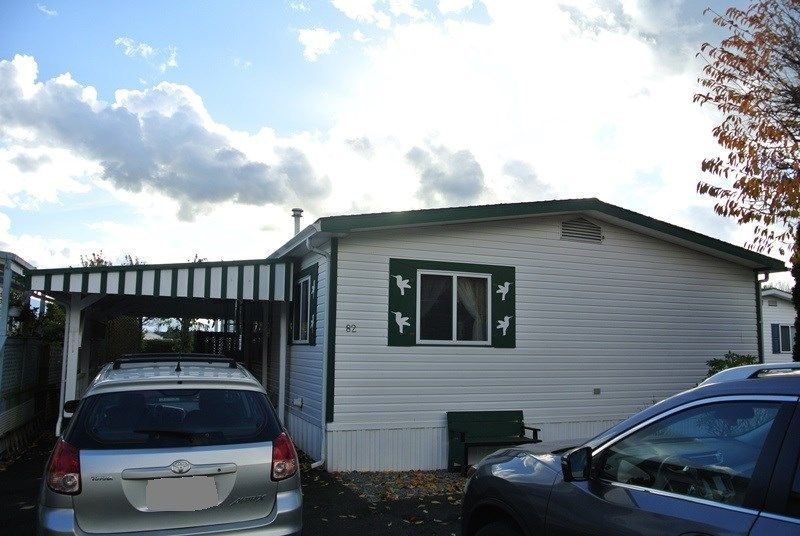 """Main Photo: 82 41168 LOUGHEED Highway in Mission: Dewdney Deroche Manufactured Home for sale in """"Oasis Country Estates"""" : MLS®# R2014800"""
