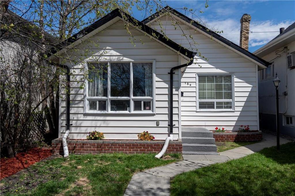 Main Photo: 189 Gordon Avenue in Winnipeg: Elmwood Residential for sale (3A)  : MLS®# 202010710