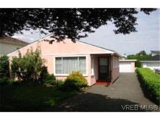Photo 1:  in VICTORIA: Vi Oaklands House for sale (Victoria)  : MLS®# 366551