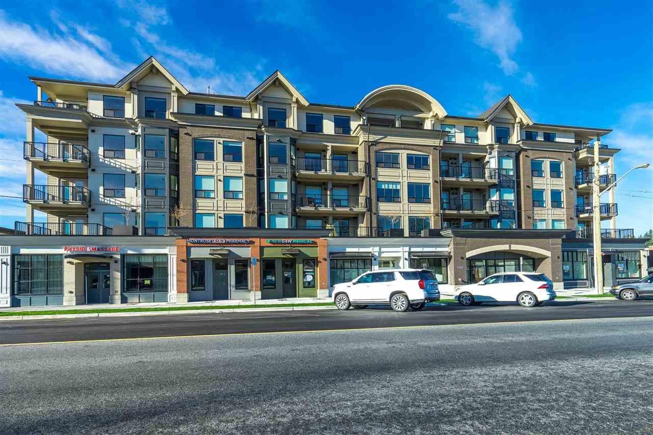 "Main Photo: 512 2493 MONTROSE Avenue in Abbotsford: Central Abbotsford Condo for sale in ""Upper Montrose"" : MLS®# R2530029"