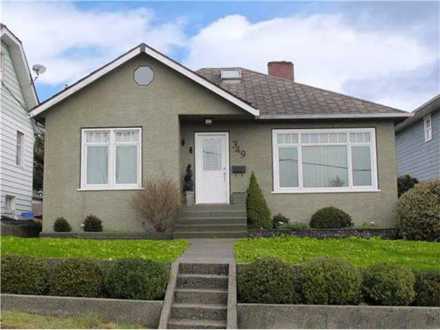 Main Photo: 349 SIMPSON Street in New Westminster: Sapperton House  : MLS®# V1104440