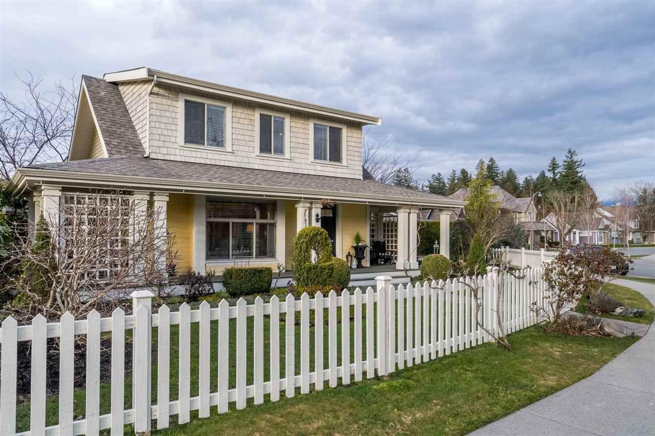 "Main Photo: 45245 CHEHALIS Drive in Chilliwack: Vedder S Watson-Promontory House for sale in ""Garrison Crossing"" (Sardis)  : MLS®# R2543731"