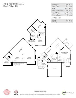 "Photo 31: 81 24185 106B Avenue in Maple Ridge: Albion Townhouse for sale in ""TRAILS EDGE"" : MLS®# R2607401"