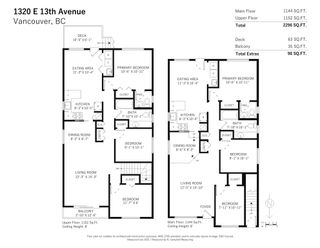 Photo 2: 1320 1316 E 13TH AVENUE in Vancouver: Grandview Woodland House for sale (Vancouver East)  : MLS®# R2604462