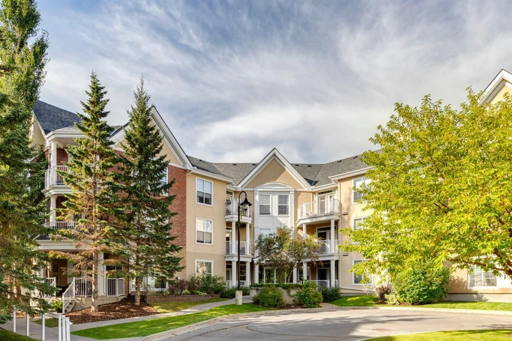 Main Photo: 344 2200 Marda Link SW in Calgary: Garrison Woods Apartment for sale : MLS®# A1144058