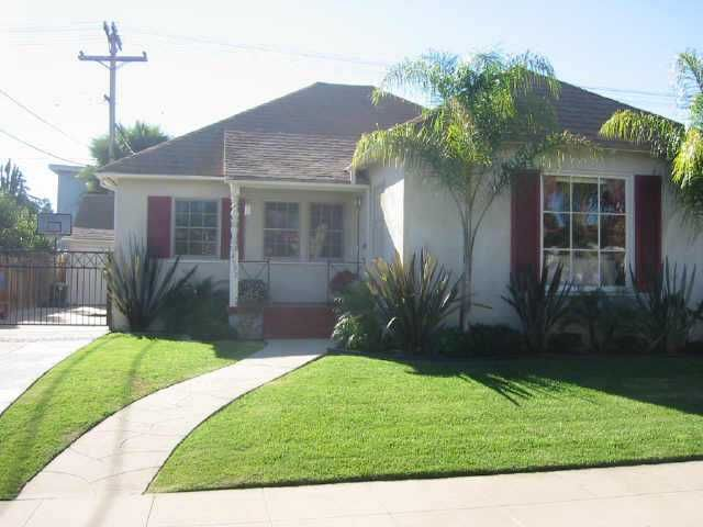 Main Photo: TALMADGE Residential for sale : 3 bedrooms : 4599 Monroe Ave in San Diego