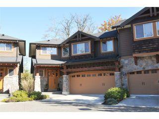 "Photo 1: 15 24185 106B Avenue in Maple Ridge: Albion Townhouse for sale in ""TRAILS EDGE"" : MLS®# V1033470"
