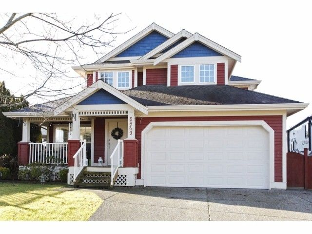 Main Photo: 6849 184A Street in Surrey: Cloverdale BC House for sale (Cloverdale)  : MLS®# F1400810