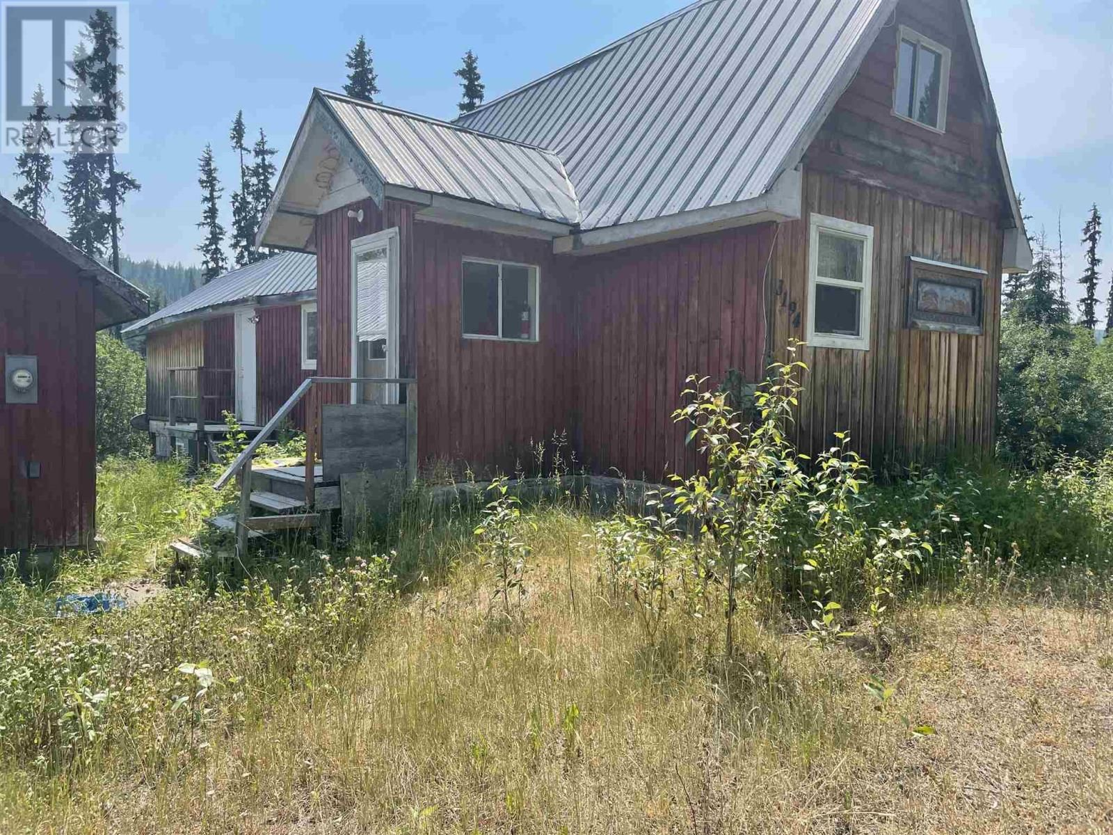 Main Photo: 3194 LITTLE LAKE-QUESNEL RIVER ROAD in Likely: House for sale : MLS®# R2602206