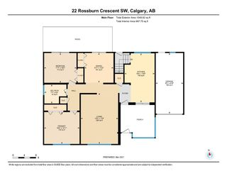 Photo 26: 22 Rossburn Crescent SW in Calgary: Rosscarrock Detached for sale : MLS®# A1083090