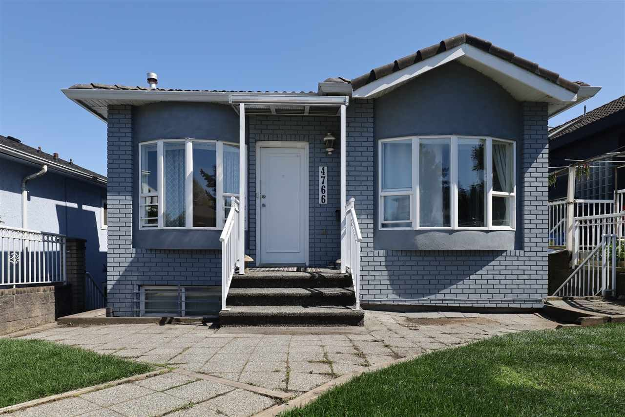 Main Photo: 4766 KNIGHT Street in Vancouver: Knight House for sale (Vancouver East)  : MLS®# R2590112