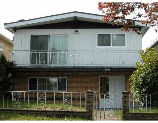 Main Photo: 1906 E 52ND Avenue in Vancouver: Killarney VE House for sale (Vancouver East)  : MLS®# V704936