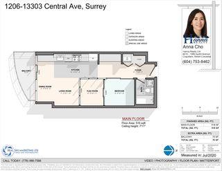 """Photo 19: 1206 13303 CENTRAL Avenue in Surrey: Whalley Condo for sale in """"WAVE"""" (North Surrey)  : MLS®# R2481811"""