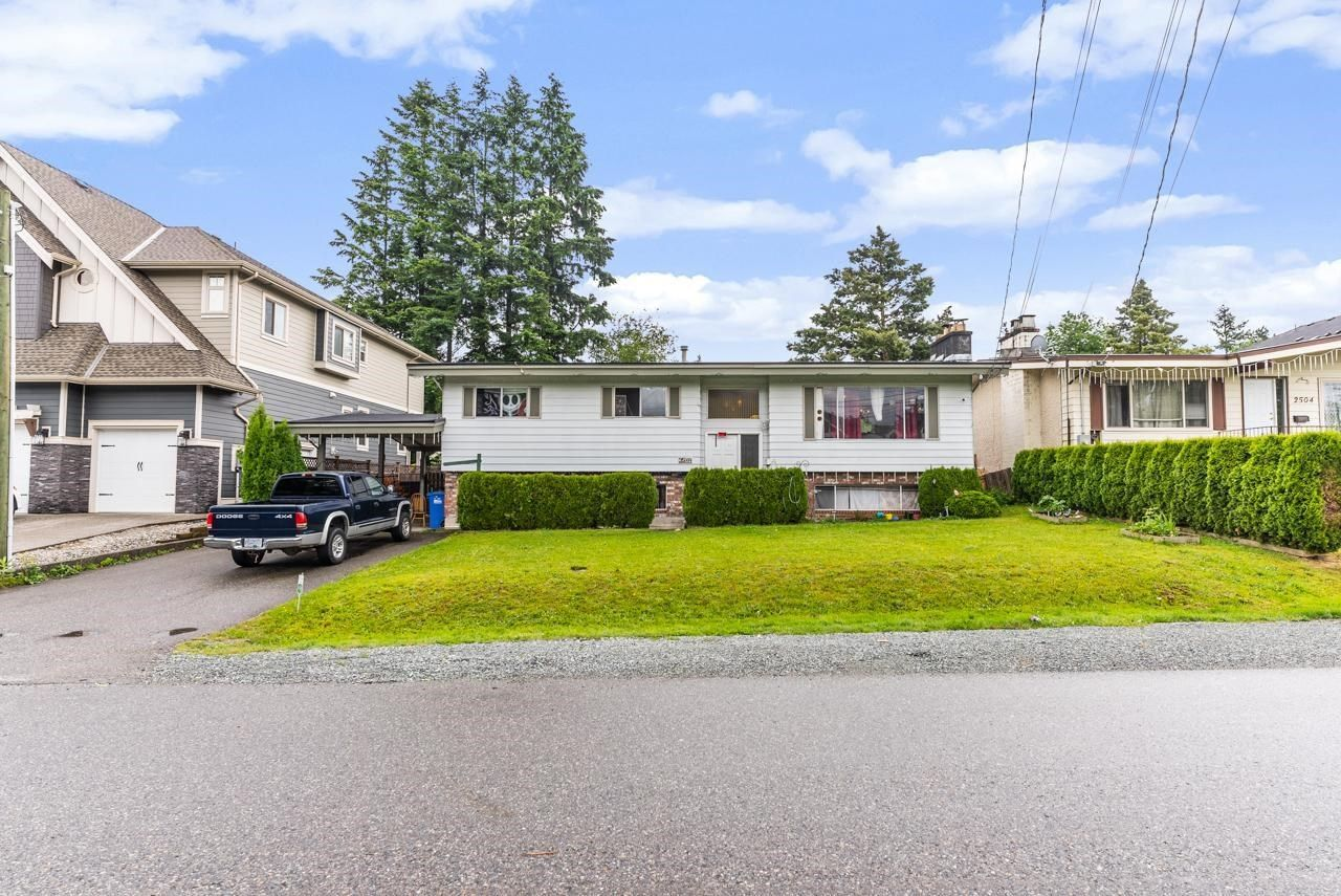 Main Photo: 2514 LILAC Crescent in Abbotsford: Abbotsford West House for sale : MLS®# R2593341