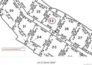 Photo 22: LOT 23 Secret Island in Gulf Islands: GI Gulf Isl Other Land for sale : MLS®# 851272