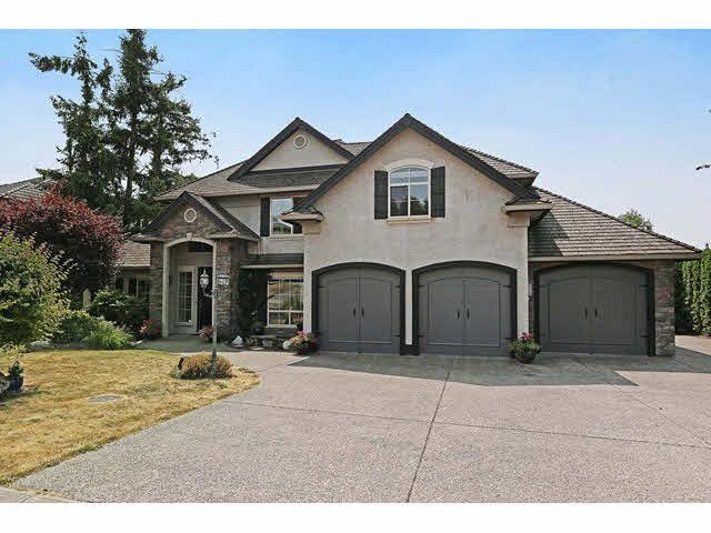 "Main Photo: 18678 53A Avenue in Surrey: Cloverdale BC House for sale in ""HUNTER PARK"" (Cloverdale)  : MLS®# F1445935"