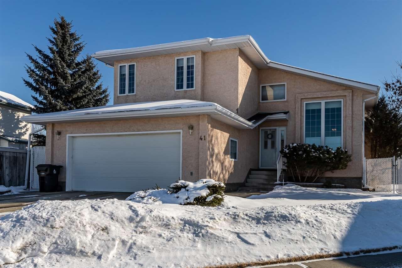 Main Photo: 41 Deer Park Way: Spruce Grove House for sale : MLS®# E4229327