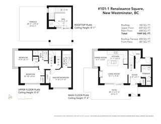 """Photo 27: 101 1 RENAISSANCE Square in New Westminster: Quay Townhouse for sale in """"THE """"Q"""""""" : MLS®# R2550911"""