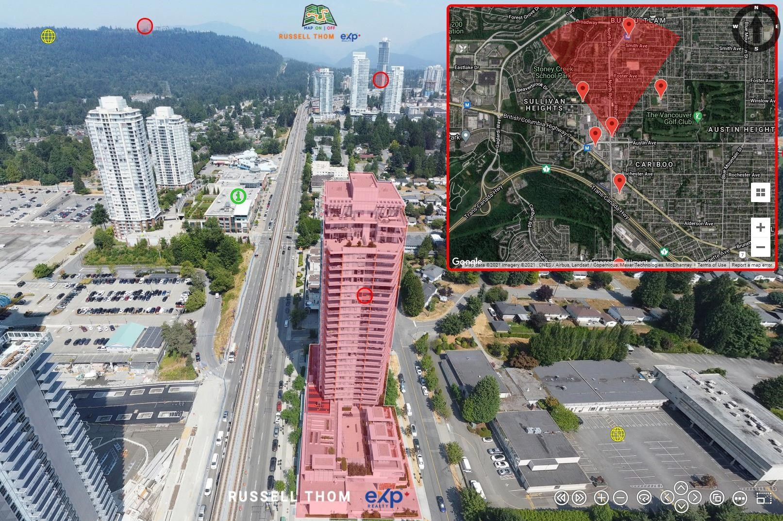 """Main Photo: 1907 530 WHITING Way in Coquitlam: Coquitlam West Condo for sale in """"Brookmere"""" : MLS®# R2607597"""