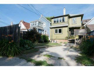 Photo 20: 508 Craig Street in WINNIPEG: West End / Wolseley Residential for sale (West Winnipeg)  : MLS®# 1420307