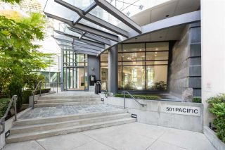 """Photo 1: 2201 501 PACIFIC Street in Vancouver: Downtown VW Condo for sale in """"THE 501"""" (Vancouver West)  : MLS®# R2605380"""