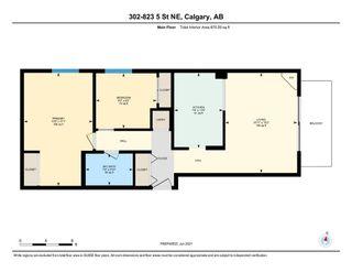 Photo 20: 302 823 5 Street NE in Calgary: Renfrew Apartment for sale : MLS®# A1121202