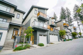"Photo 1: 120 3525 CHANDLER Street in Coquitlam: Burke Mountain Townhouse for sale in ""WHISPER"" : MLS®# R2572490"