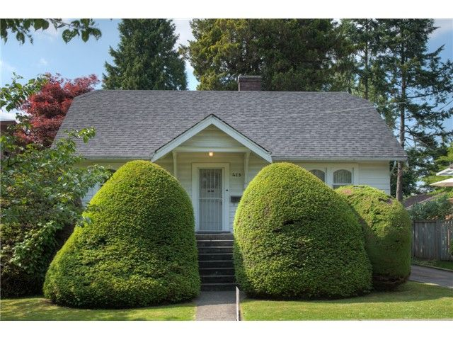 Main Photo: 413 SEVENTH Avenue in New Westminster: GlenBrooke North House for sale : MLS®# V1126096