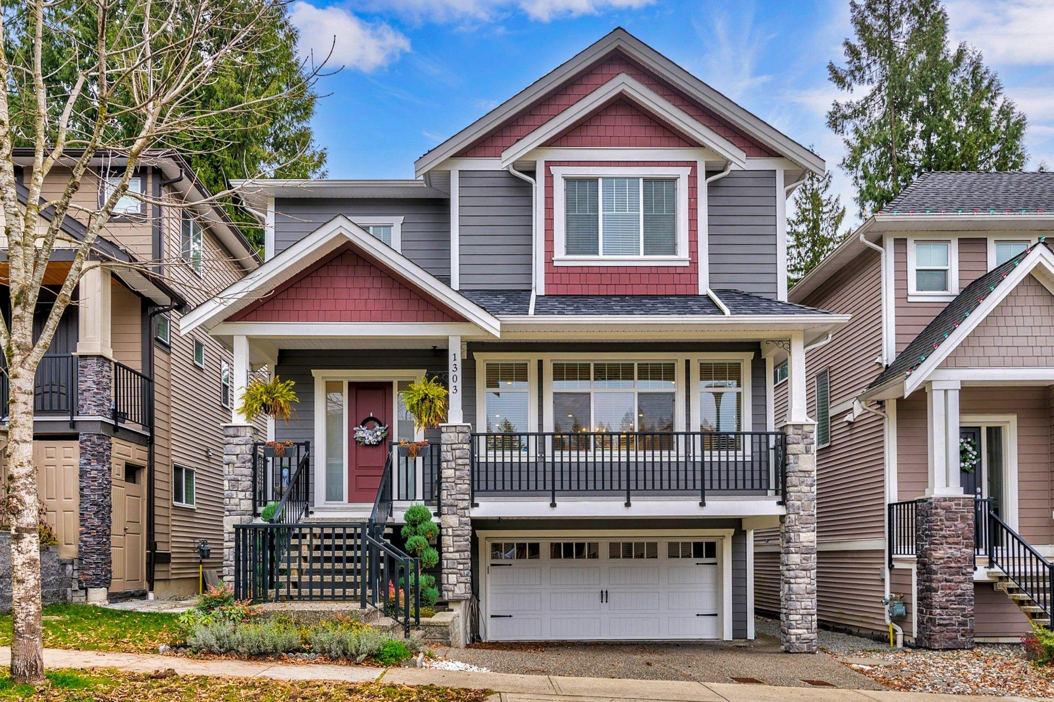Photo 2: Photos: 1303 Hollybrook Street in Coquitlam: Burke Mountain House for sale : MLS®# R2423196