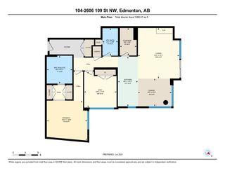 Photo 39: 104 2606 109 Street in Edmonton: Zone 16 Condo for sale : MLS®# E4253410