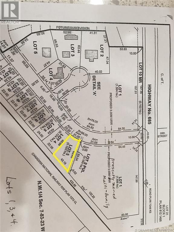 Main Photo: 4921 59 Street in Grimshaw: Vacant Land for sale : MLS®# GP207296