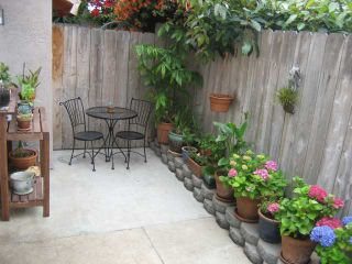 Photo 1: PACIFIC BEACH Townhome for sale : 2 bedrooms : 1648 Oliver # 3