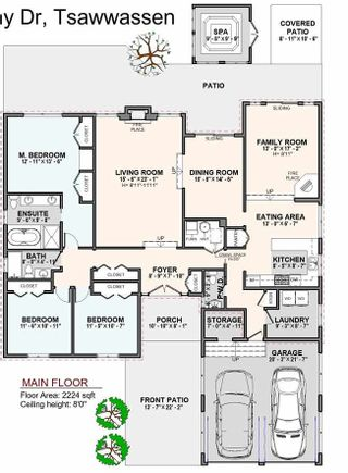 Photo 2: 288 W MURPHY DRIVE in Delta: Pebble Hill House for sale (Tsawwassen)  : MLS®# R2517156