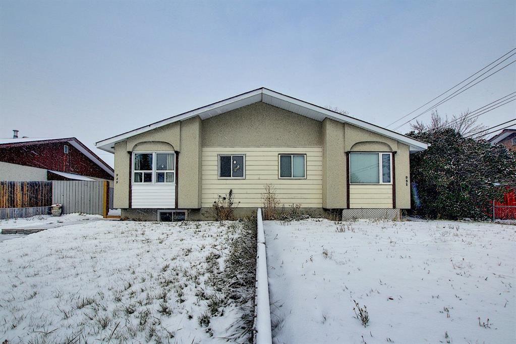 Main Photo: 929 Marcombe Drive NE in Calgary: Marlborough Semi Detached for sale : MLS®# A1043731
